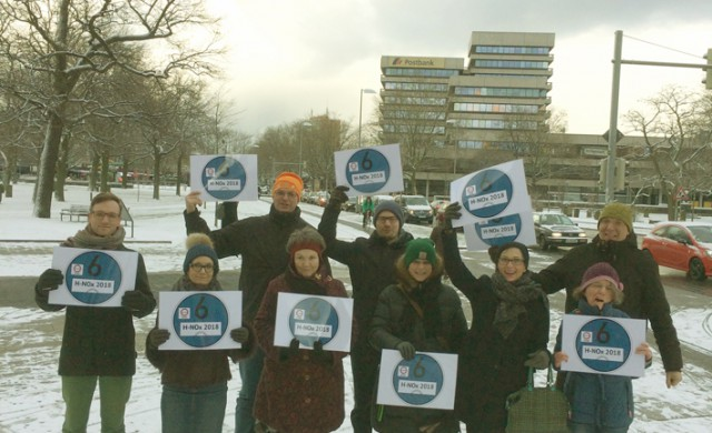 Ratsfraktion Hannover mit Blauer Plakette