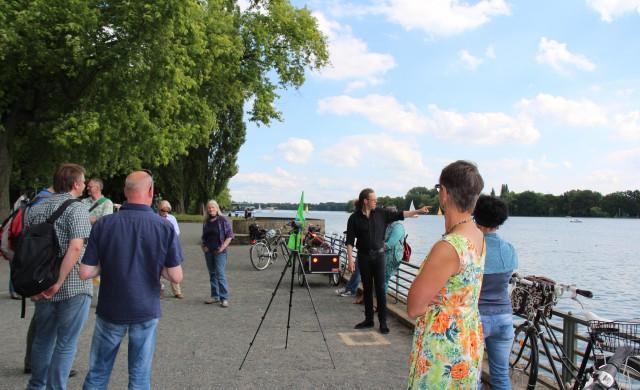 Sommer-Radtour: Erinnerung und Zukunft am Maschsee