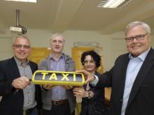 vlnr: Herr Frenzel, Herr Pettkau, Frau Clausen-Muradian, Herr Jacobi